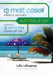Sunshine Coast Car Hire, Miss Moneypenny's Australia Day party.